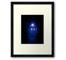 Doctor Who - 8th Doctor Titles Inspired Framed Print
