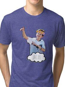 Jacob Sartorius - Flowers Crown Tri-blend T-Shirt