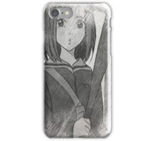 FLCL Mamimi Pencil iPhone Case/Skin