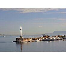 La Virgen del puerto Messina, Sicilia.    (Italia) Photographic Print