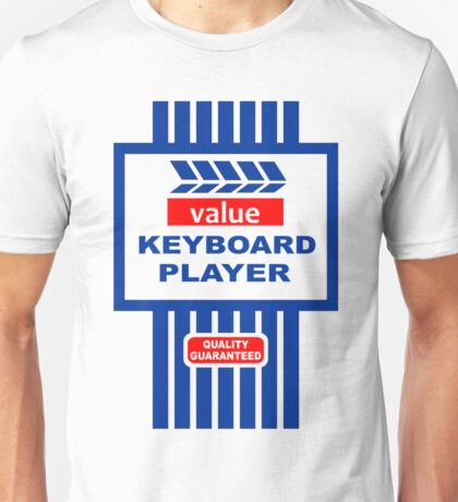 Value Range Keyboard Player Unisex T-Shirt