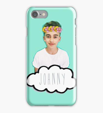 Johnny Orlando - Flowers Crown iPhone Case/Skin