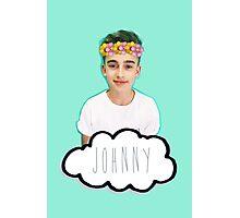 Johnny Orlando - Flowers Crown Photographic Print