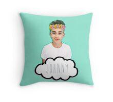 Johnny Orlando - Flowers Crown Throw Pillow