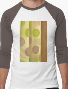 Polka Dot Curtain Men's Baseball ¾ T-Shirt