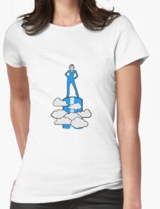 successful winner siegerin champion female Womens Fitted T-Shirt