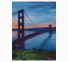 Golden Gate Bridge One Piece - Long Sleeve