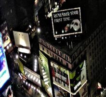 New York Nights Sticker