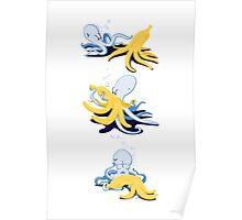 octo-banana Poster