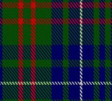02814 Edmonstone of Duntreath Clan/Family Tartan  Sticker