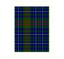 02814 Edmonstone of Duntreath Clan/Family Tartan  Art Print