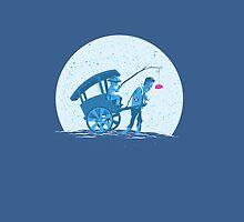 rickshaw zombie by uwanlibner