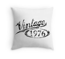 VIntage 1976, 40 Year Old Gift Throw Pillow