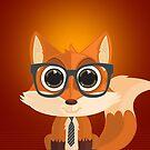 Fox Nerd (Cell Cases) by Adamzworld