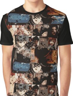 Video Game Character Mash-up Graphic T-Shirt