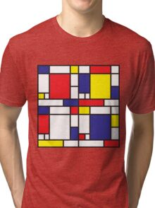 Mondrian Study I Tri-blend T-Shirt