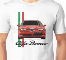 Alfa Romeo 156 GTA (red) Unisex T-Shirt