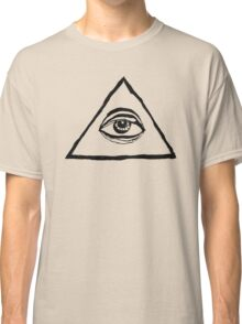The All-Seeing Eye Of The Illuminati Classic T-Shirt