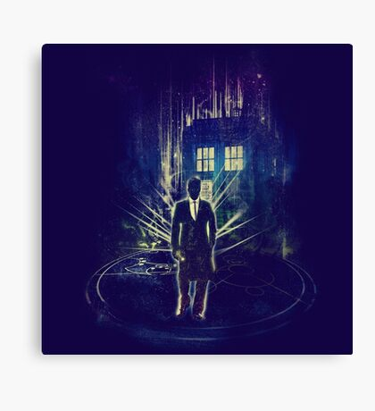 i am the doktor Canvas Print
