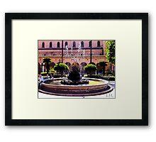 Fontana d'Italia, Photo / Digital Painting  Framed Print