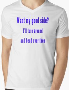 Goodside Mens V-Neck T-Shirt