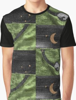 Rabbit and its Moon Graphic T-Shirt