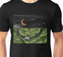 Rabbit and its Moon Unisex T-Shirt