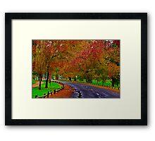 """""""Autumn In Eastern Park"""" Framed Print"""