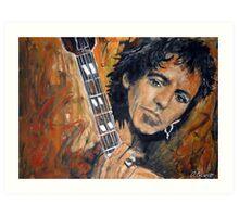 Keith Richards Art Print