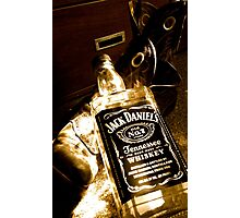 Whiskey too boot Photographic Print