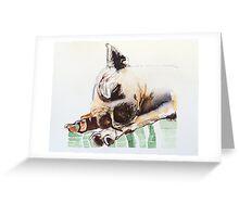 Cholo (chihuahua) Greeting Card