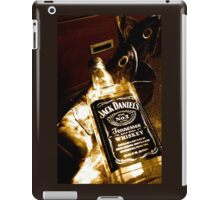 Whiskey too boot iPad Case/Skin