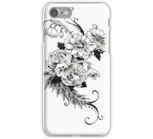 Flowers_sketch iPhone Case/Skin