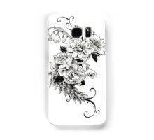Flowers_sketch Samsung Galaxy Case/Skin