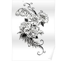 Flowers_sketch Poster
