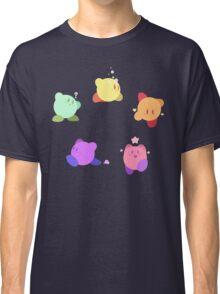 Rainbow Kirbys Classic T-Shirt