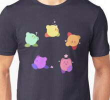 Rainbow Kirbys Unisex T-Shirt