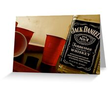 Red Solo Cups Greeting Card