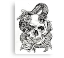 Poison_sketch Canvas Print