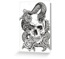 Poison_sketch Greeting Card