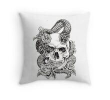 Poison_sketch Throw Pillow
