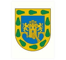 Coat of Arms of Mexico City Art Print