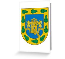 Coat of Arms of Mexico City Greeting Card