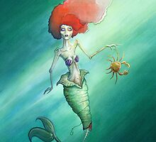 Zombie Gingers – Ariel by Sam Pea