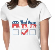 I'm voting for CATS Womens Fitted T-Shirt