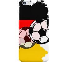 German Fussball iPhone Case/Skin