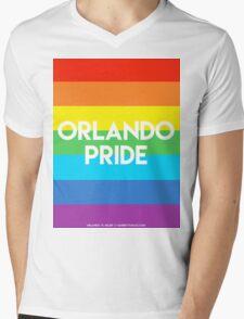 ORLANDO PRIDE Mens V-Neck T-Shirt