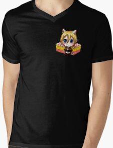 Attack on Titan Sticker Set : Angel Cake Krista Mens V-Neck T-Shirt
