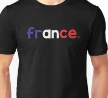 France Font Unisex T-Shirt