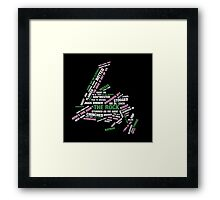 It's Always Going Best Kind on The Rock Framed Print